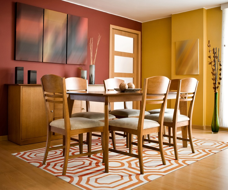 warm-color-schemes-work-well-for-dining-rooms-and-entry-ways